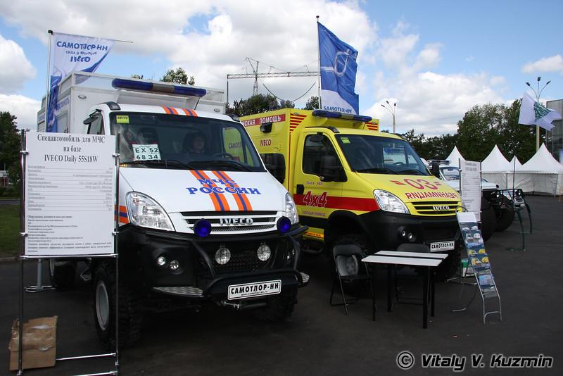 Автомобили экстренных служб (EMERCOM vehicles)