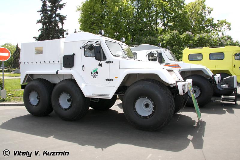 Вездеход Трекол (Trekol all-terrain vehicle)