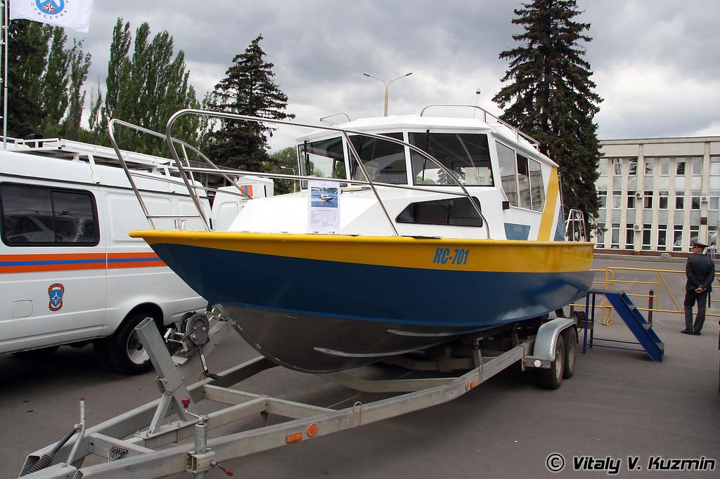 Скоростной катер КС-701 (KS-701 boat)