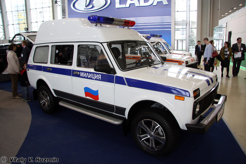 Lada 4x4 МВД (Lada 4x4 Police mod)