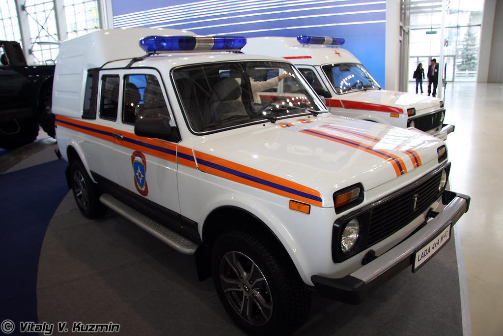Lada 4x4 МЧС (Lada 4x4 Emercom mod)