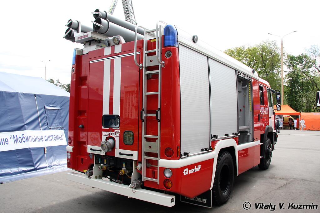 Пожарная автоцистерна АЦ 2,0-20-2 на шасси ЗИЛ-4331А5 (ATs 2,0-20-2 fire truck on ZIL-4331A5 chassis)