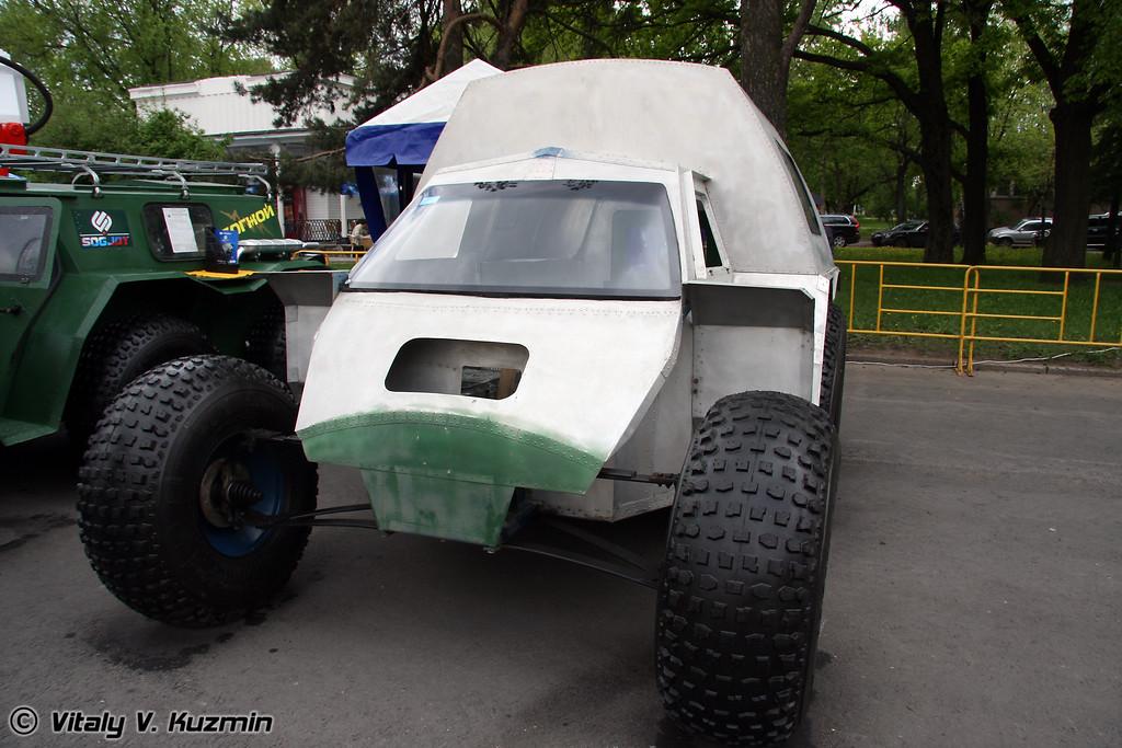 Снегоболотоход Согжой (All-terrain vehicle Sogjoy)