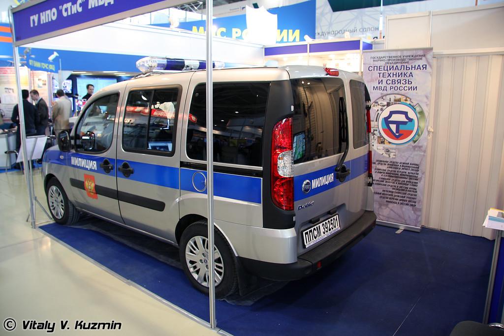 Патрульный спецавтомобиль 392501 Фиат-Добло-ППС (Patrol vehicle 392501 Fiat-Doblo-PPS)