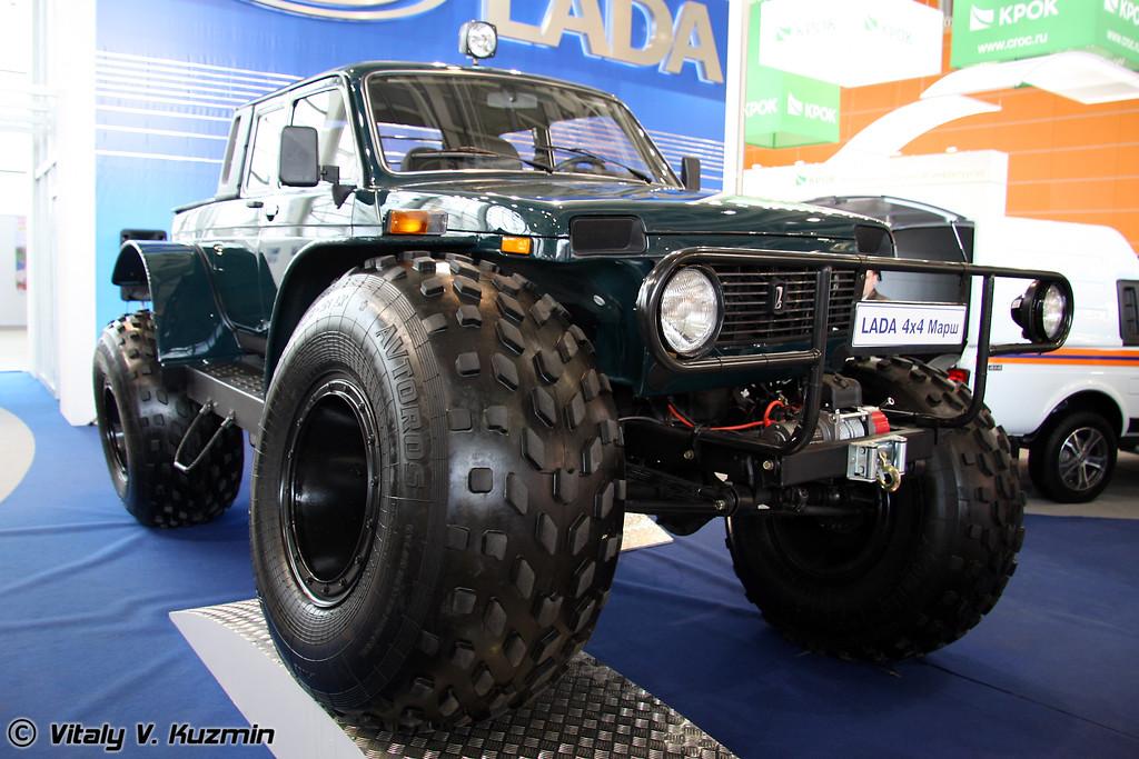 Lada 4x4 Марш пикап (Lada 4x4 Marsh pickup)