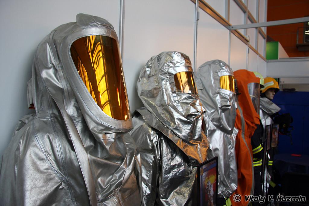 Герметичные костюмы изолирующего типа (Fire suit)