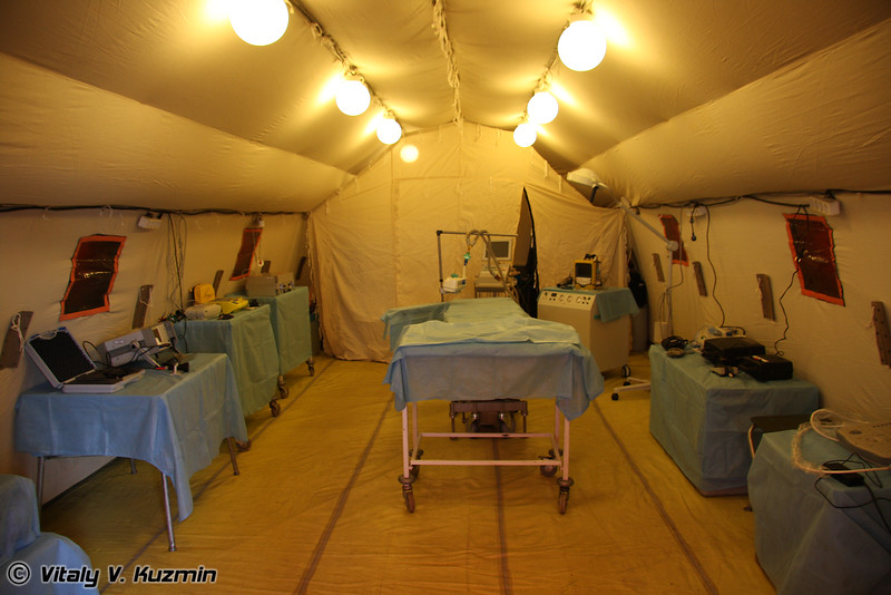 Полевой многопрофильный госпиталь (Field diversified hospital)