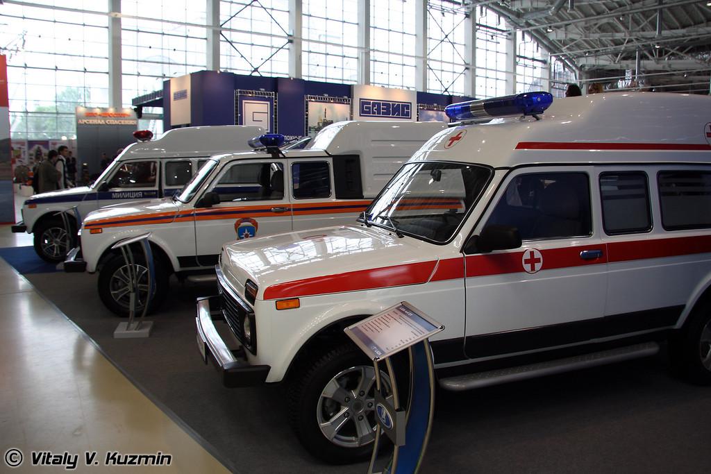 Lada 4x4 СП (Lada 4x4 Ambulance mod)