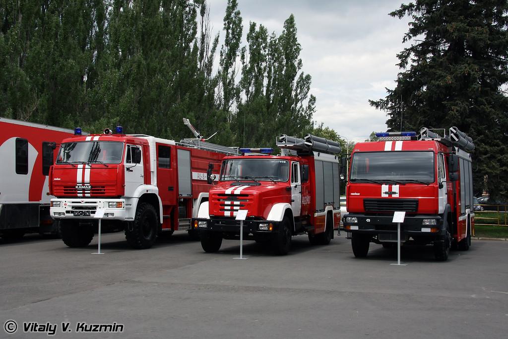 Пожарные автоцистерны (Firefighting trucks)