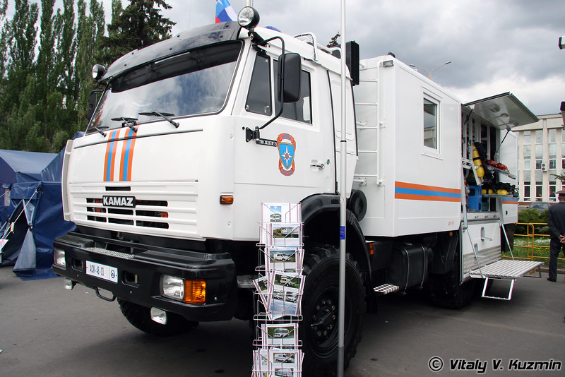 Аварийно-спасательная машина АСМ-48-03 на базе КАМАЗ-43118-1048-10 (Search-and-rescue emergency vehicle ASM-48-03 on KAMAZ-43118-1048-10 chassis)
