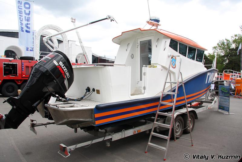 Катер Касатка 2М (Kasatka 2M boat)
