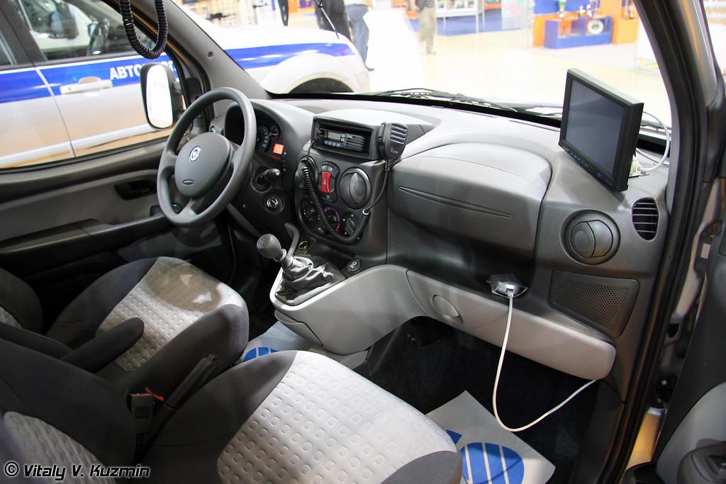 Fiat Doblo Panorama для различных подразделений органов внутренних дел (Police Fiat Doblo Panorama)