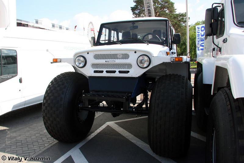 Вездеход Трэкол 39041(14) (Trekol 39041(14) all-terrain vehicle)