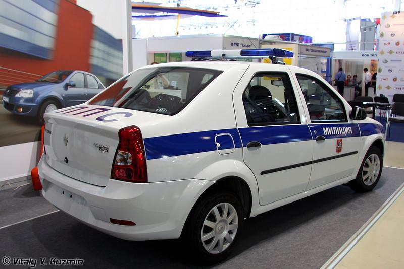 Renault Logan версия для Патрульно-постовой службы (Renault Logan for Street police)