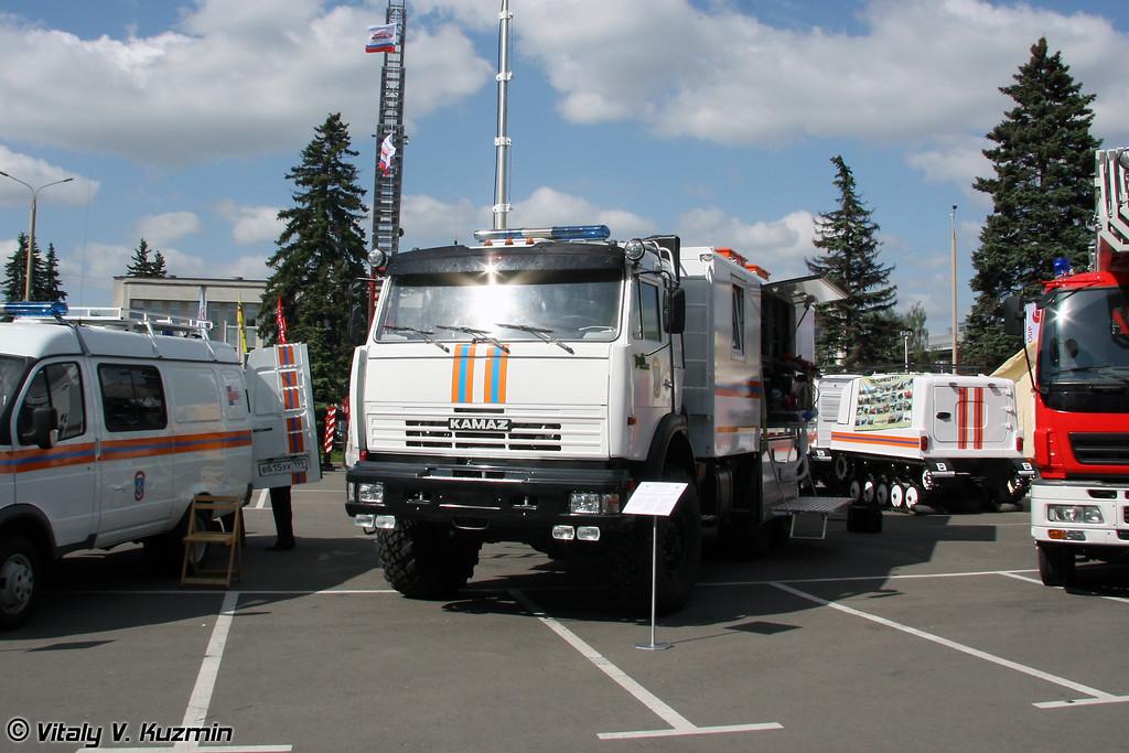 Аварийно-спасательная машина АСМ-48-031 Спасатель на базе КАМАЗ-43118 (Emergency vehicle ASM-48-031 Spasatel on KAMAZ-43118 chassis)