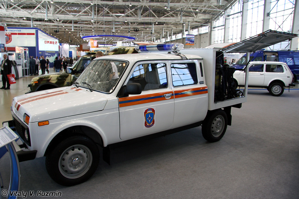 LADA 4x4 ACA (LADA 4x4 ASA for EMERCOM)