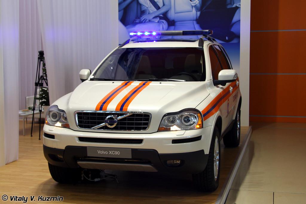 Volvo CX90 для МЧС (EMERCOM Volvo CX90)