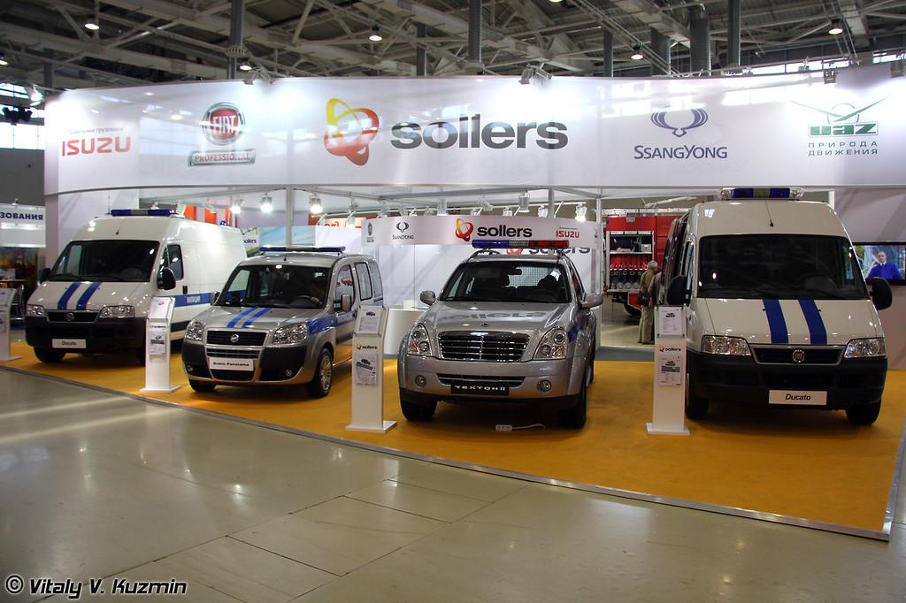 Стенд компании Соллерс (Sollers booth)