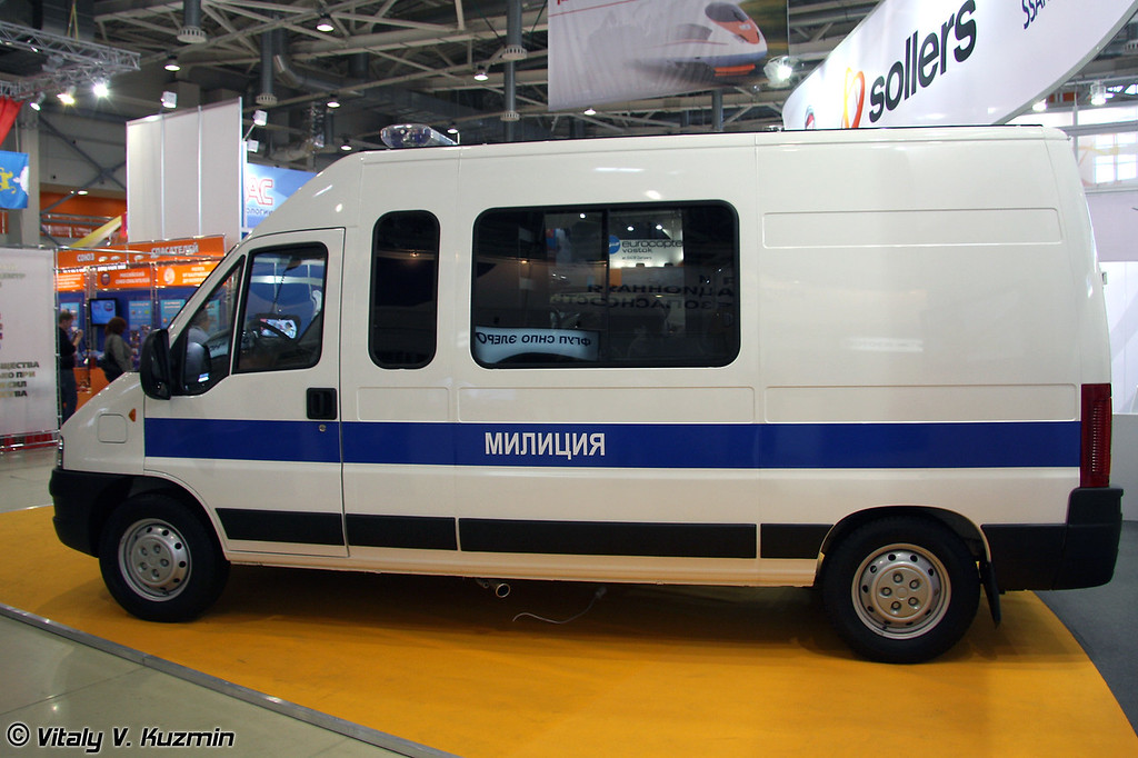 Автомобиль дежурной части на базе Fiat Ducato (Police Duty department vehicle on Fiat Ducato base)