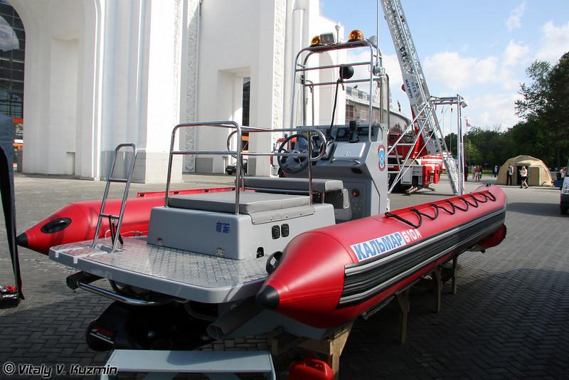 Катер Кальмар-610А с откидной аппарелью (Kalmar-610A boat)