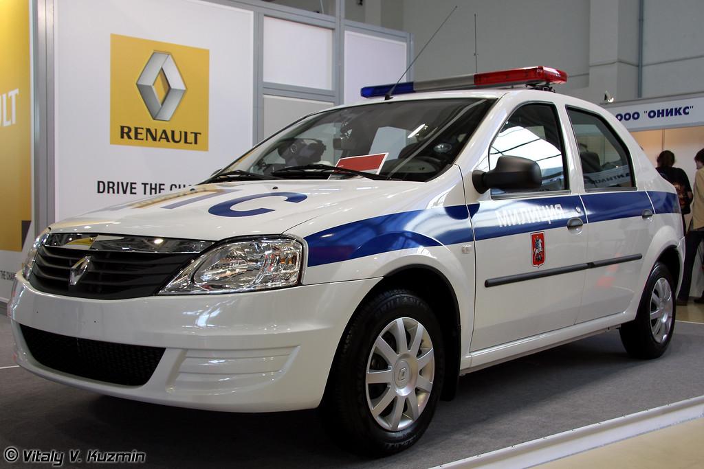 Renault Logan для ДПС (Renault Logan for Road police)