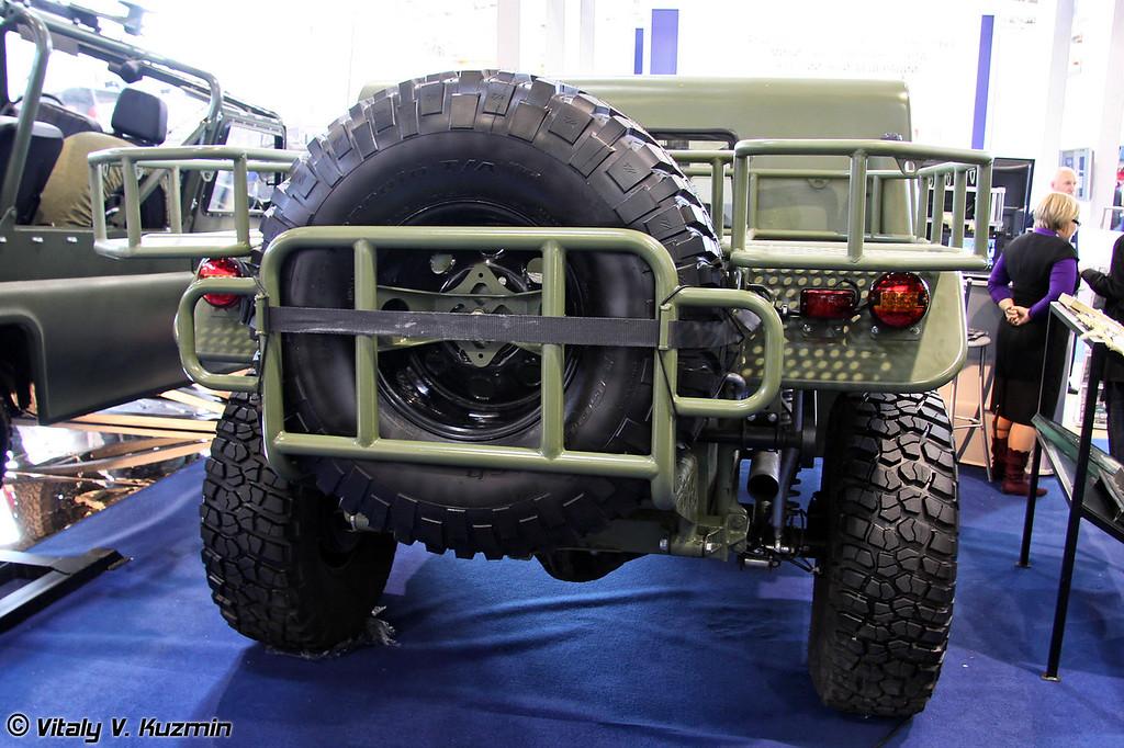 Легкий патрульный автомобиль Скорпион ЛПА (Light patrol vehicle Skorpion LPA)