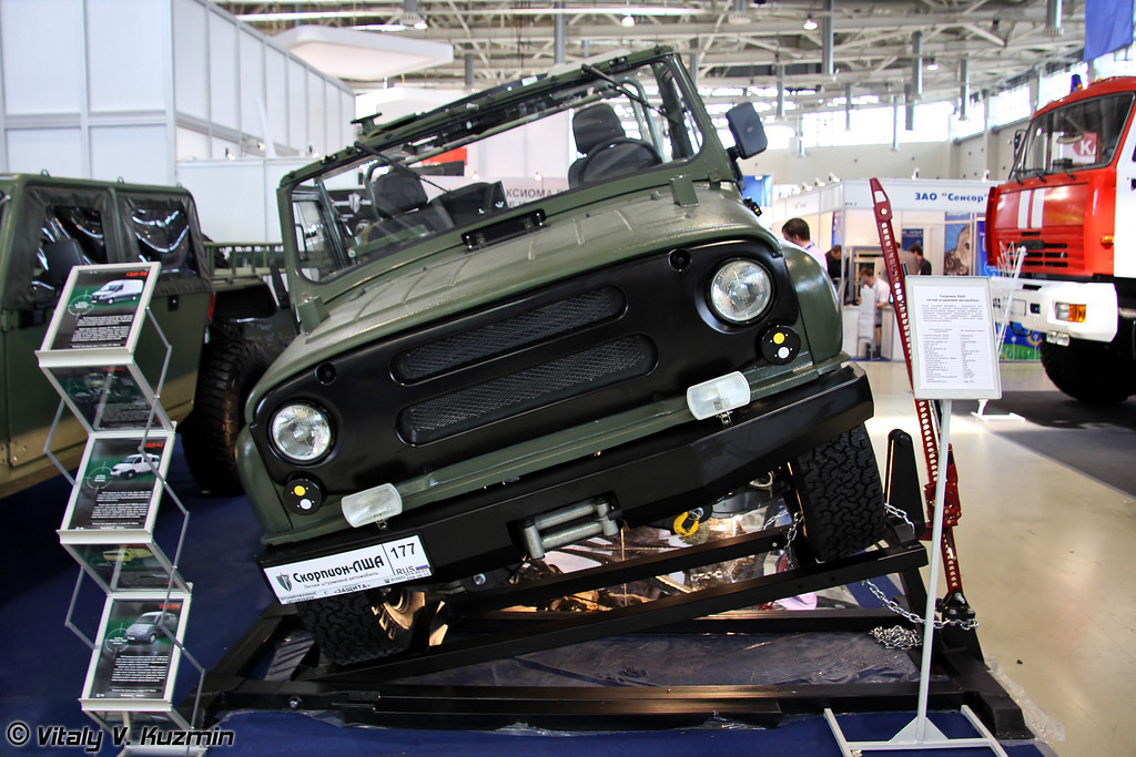 Легкий штурмовой автомобиль Скорпион ЛША (Light assault vehicle Skorpion LShA)
