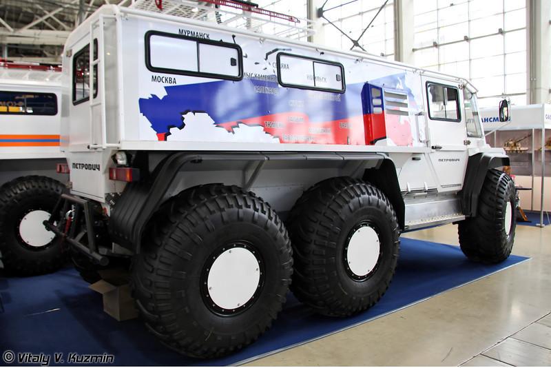 ПЕТРОВИЧ 345-60 (PETROVICH 345-60 all-terrain vehicle)