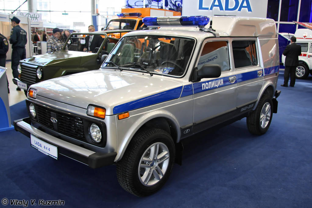 LADA 4x4 МВД (LADA 4x4 MVD)