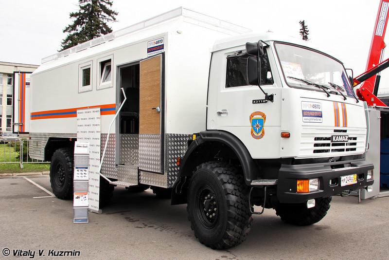 Грузопассажирский автобус на шасси КАМАЗ-43118 (Passenger van on KAMAZ-43118 chassis)
