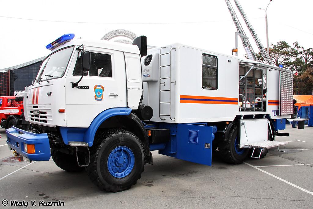 "Аварийно-спасательная машина МАВР-58860С ""Белый орел-2"" (Emergency vehicle MAVR-588560S ""White eagle-2"")"