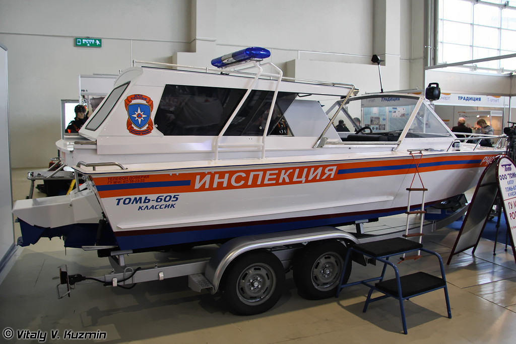Катер Томь-605 Классик (Tom'-605 Classic boat)