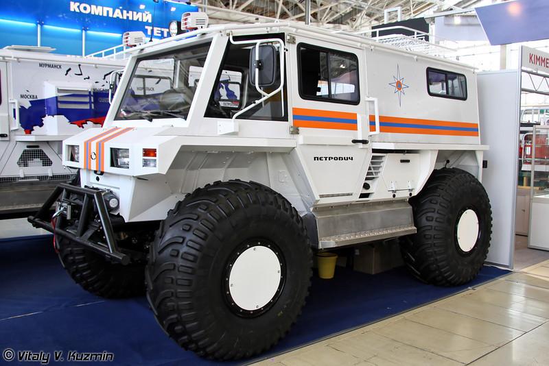 ПЕТРОВИЧ 204-60 (PETROVICH 204-60 all-terrain vehicle)