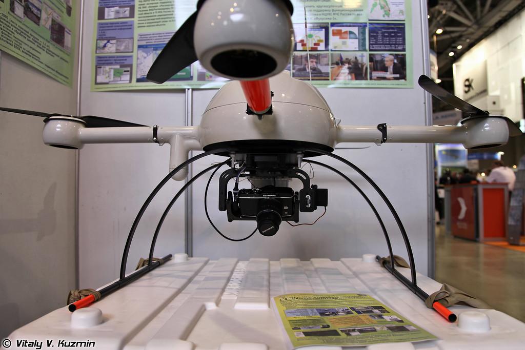 БПЛА md-1000, применяемый для радиационной разведки (md-1000 UAV)