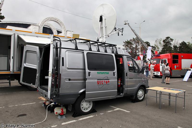 Мобильный комплекс спутниковой связи (Mobile satellite signal complex)