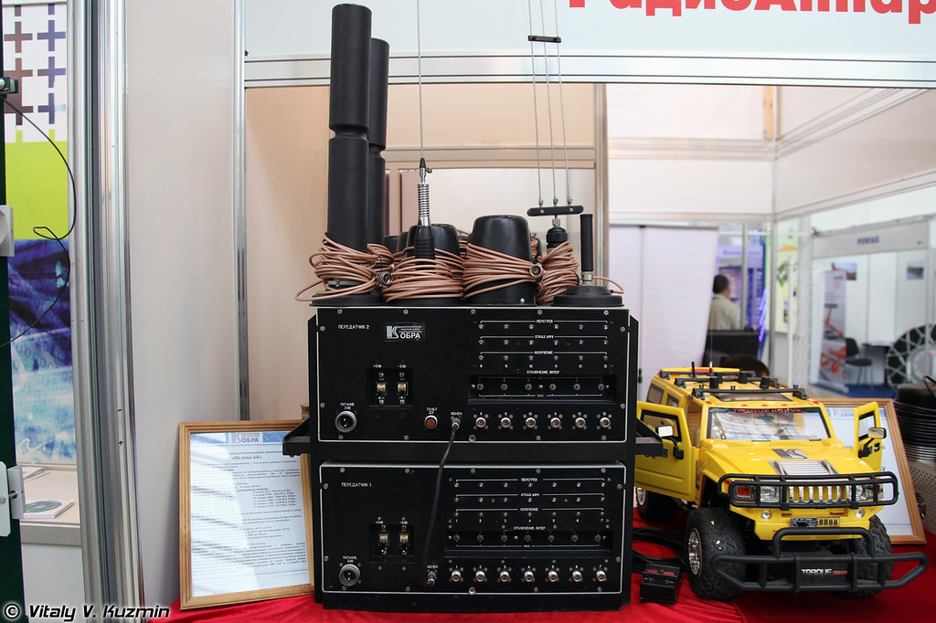 Блокиратор Пелена-6К (Jamming device Pelena-6K)