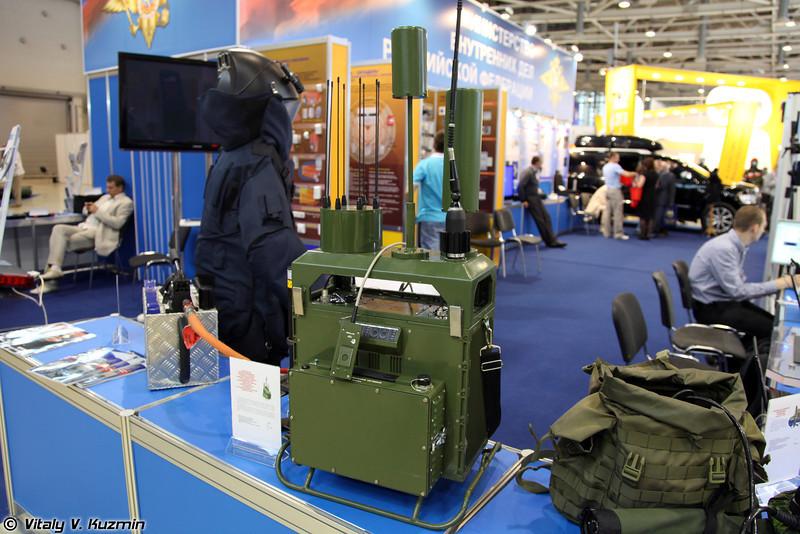 Блокиратор радиоуправляемых взрывных устройств Камыш-Сочи (Jamming device Kamish-Sochi)