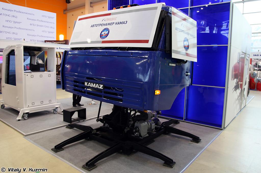 Динамический тренажер вождения КАМАЗ-65115 (KAMAZ-65115 driving simulator)