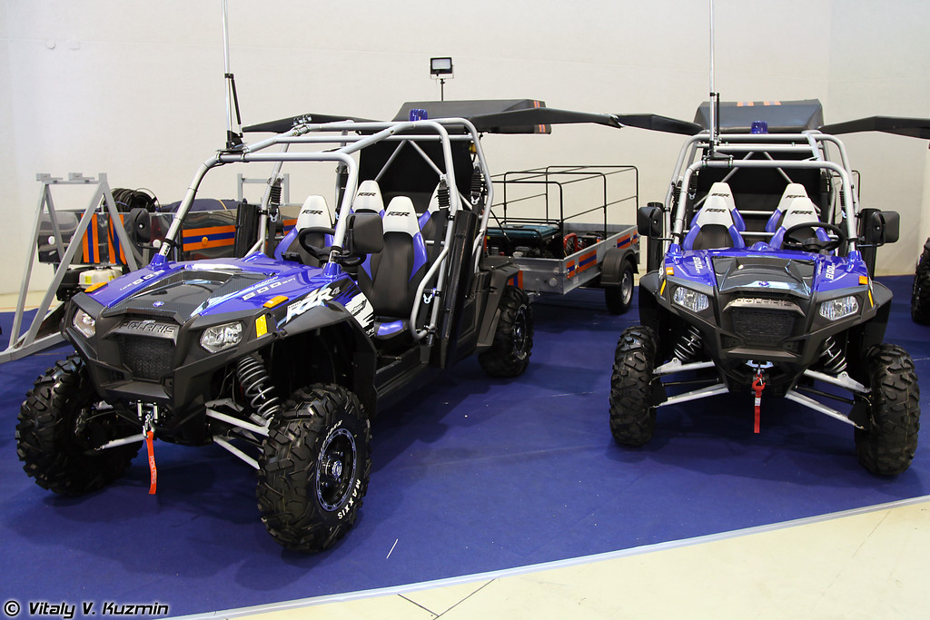 Polaris RANGER RZR 4 Robby Gordon Edition