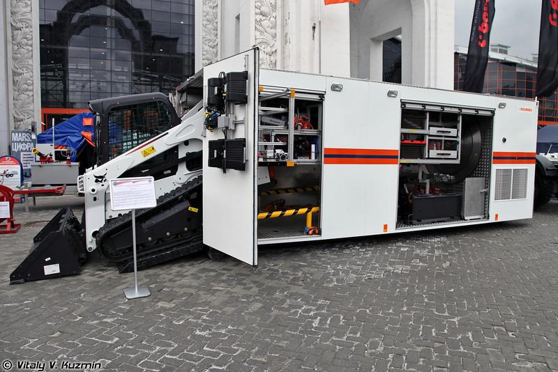 Мобильный аварийно-спасательный комплекс Гранит (Mobile emergency complex Granit)