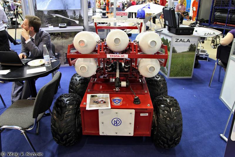 Дистанционно управляемая роботизированная платформа Тропа-3 (Tropa-3 robot system)