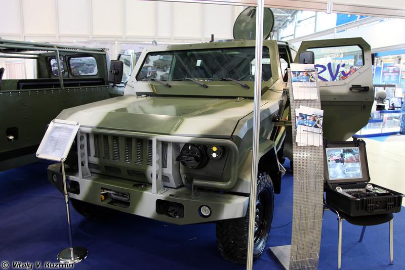 Многоцелевой бронированный автомобиль Скорпион-ЛША Б (Skorpion-LShA B armored vehicle)
