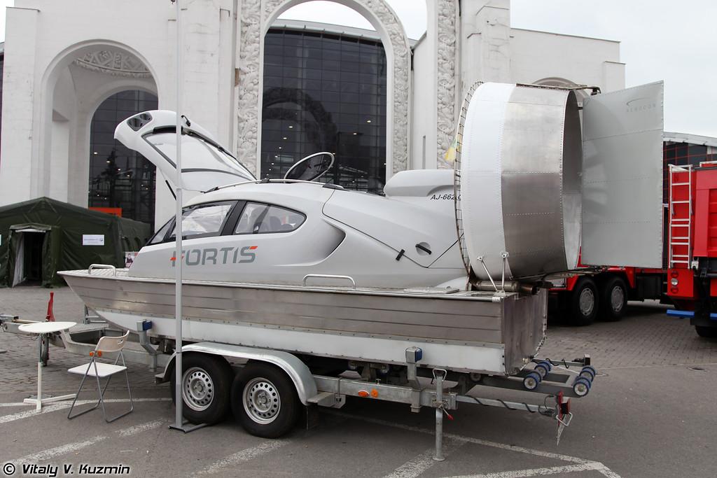 Аэроджип FORTIS (FORTIS boat)