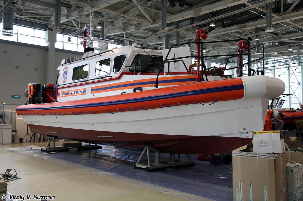 Пожарно-спасательный катер Лидер 12ПМ (Fire boat Lider 12PM)