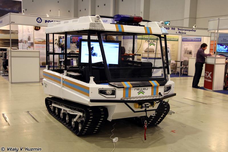 Снегоболотоход-амфибия Пелец Транспортер (All-terrain vehicle Pelets Transporter)