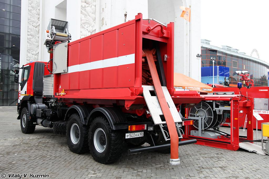 Насосно-рукавный комплекс Поток (Firefighting complex Potok)