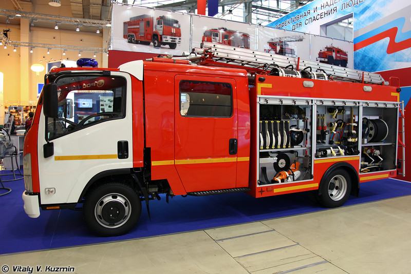Автоцистерна пожарная АЦ 1,5-40/2 (Fire fighting vehicle ATs 1,5-40/2)
