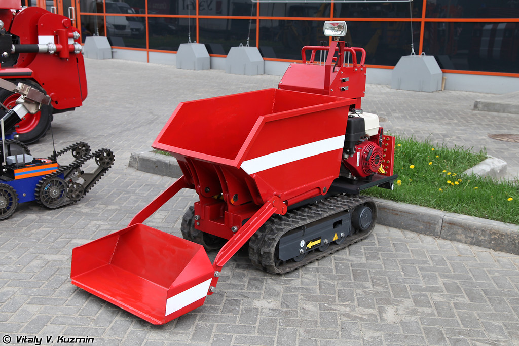 Дистанционно управляемый думпер (Remotely controlled dumper)