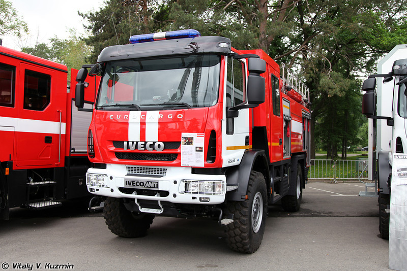 Автоцистерна пожарная IVECO-AMT 493910 АЦ-4,0-70 (Firefighting vehicle IVECO-AMT 493910 ATs-4,0-70)