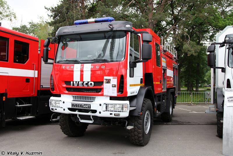 Автоцистерна пожарная IVECO-AMT 493910 АЦ-4,0-70 (Firefighting vehicle IVECO-AMT 493910 ATs-4,0-70)